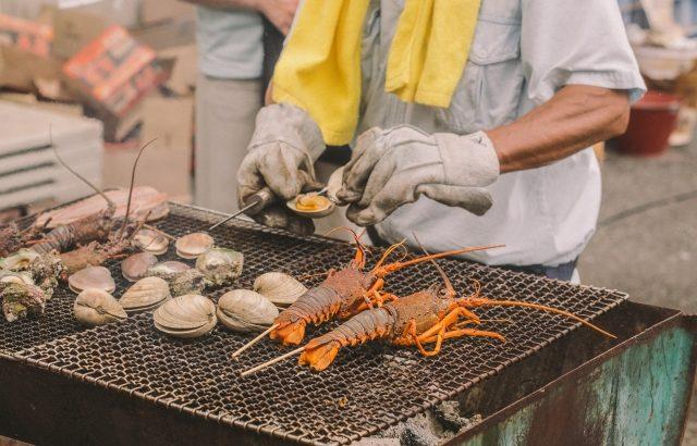 大原漁港『港の朝市』の開催日時や場所は?絶対食べておきたいおすすめフードや実際に行った人の感想も