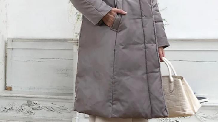 美シルエット ロングダウンコート(いいものプレミアム)のサイズの選び方と洗濯方法は?口コミと最安値も(ディノス)