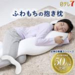 女神の無重力まくらFuwaMochi ふわもちの抱き枕の口コミと使い心地!お手入れ方法(洗濯)と最安値も
